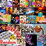 Zariocy Lucky Random 5D Surprise Diamond Painting Round Full Drill, DIY Mystery Unknown Paint with Diamonds Arts by Number Kits, Crystal Embroidery Cross Stitch, Canvas for Home Office Wall Decor21
