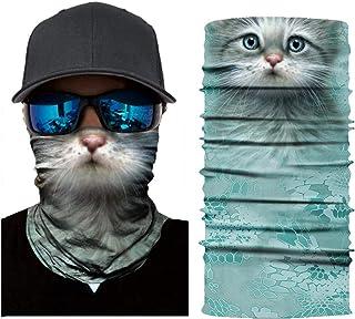 3D Animal Pattern Dog Cat Lion Tiger Printing Face Bandana Mask for Running Cycling Camping Motorcycling