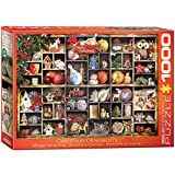 EuroGraphics Christmas Ornaments Puzzle (1000 Piece)