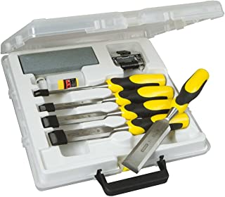 Stanley 516421 Dynagrip Chisel and Strike Cap Set with Access (5 Pieces)