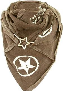 catmoew Bufanda para mujer, chales triangulares, bufandas, bufanda sólida de superficie para mujer, bufanda de moda Retro ...