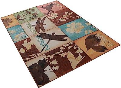 Duck Loon Hunting Decor Lodge Cabin 4X6 Area Rug Carpet