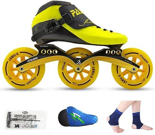 aquí tiene la última LIUXUEPING Patines, zapatos zapatos zapatos De Patinaje De Velocidad, Hauszapatos De Carreras, Patines Profesionales para Adultos para Niños, hombres Y mujeres Patines En Línea  comprar descuentos