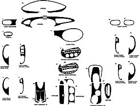Rvinyl Rdash Dash Kit Decal Trim for Ford Taurus/Mercury Sable 1996-1999 - Camouflage (Digital)