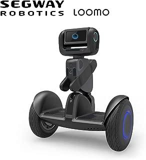 SEGWAY Ninebot LOOMO Advanced Personal Robot, Mobile AI Sidekick, Mini Personal Transporter, Black