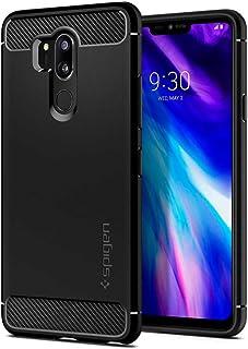 ال جي جي 7 / ال جي جي 7 ثينكيو , LG G7 / LG G7 ThinQ , كفر مرن من سبيجن درع عالي الحماية أسود