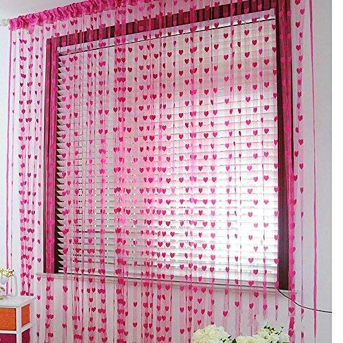 cortinas flecos ventana