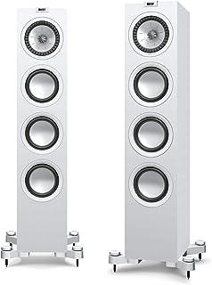 KEF Q550 Floorstanding Speaker for Small to Medium rooms (Q550 Floorstanding Speaker*, Single Speaker only, White)