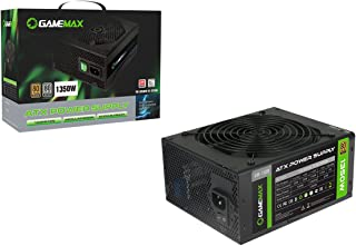 Game Max GM-1350 - Fuente de alimentación, Color Negro