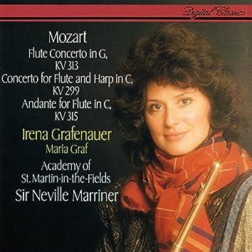 Mozart: Flute Concerto No. 1; Concerto For Flute & Harp