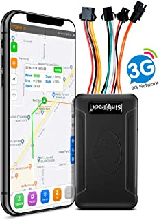 SinoTrack 3G GPS Tracker for Vehicles,Car Locator Device ST-906W Real-Time Anti Lost Alarm GPS Tracker for Car Motorcycle with SOS Button and Mic Voice,Support Free Tracking Platform Lifetime