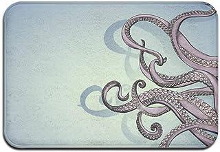 EU Non-Slip Mat 40x60cm Doormat Octopus Non-Slip Rug - Collection Kitchen Dining Living Hallway Bathroom Pet Entry Rugs
