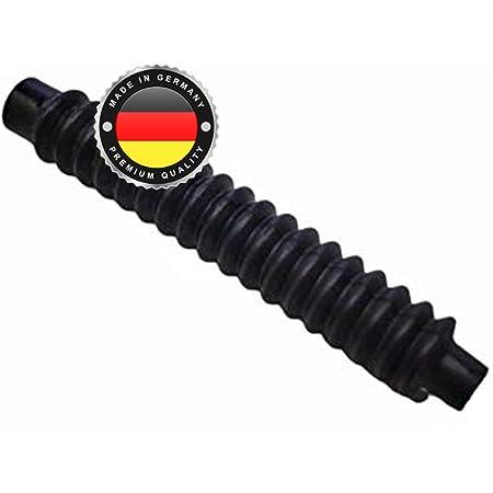 Ws System 2x Universal Faltenbalg Aus Gummi 2 Stk Flexible Dehnbare Achsmanschette Made In Germany Aus Hochwertigem Pvc Schelle In Größe L 53mm 175m Ø12 Mm 14mm Auto