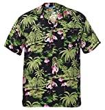Mens TrueFace Hawaiian Surf T-Shirt Royal 2XL