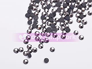 Gun black 1000Pcs Bulk Wholesale 3mm SS10 Flatback DMC Iron Hotfix Crystal Rhinestones Jewelry DIY