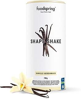foodspring - Shape Shake - Sabor Vainilla - Logra todos tus objetivos de forma natural y deliciosa- 67% de proteína de suero de leche - 750 g