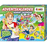 Image of CRAZE Adventskalender MAGIC SLIME Schleimlabor Weihnachtskalender kreiere deinen eigenen Schleim kreativer Spielspaß für Kinder und Jugendliche 24737