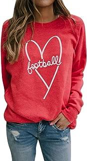 Fashion Long Sleeve Blouse Women Casual O-Neck Print Solid Sweatershirt Tops E-Scenery