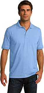 Clothe Co. Men's Big & Tall Short Sleeve Jersey Knit Polo Shirt