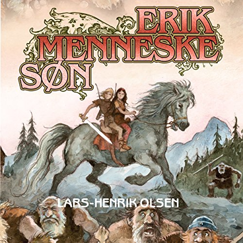 Erik Menneskesøn audiobook cover art