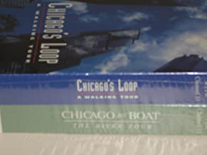 Two video set: CHICAGO'S LOOP WALKING TOUR and CHICAGO BY BOAT THE RIVER TOUR - Rare 1995 set featuring Geofrey Baer