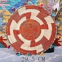 手作りの壁パネル吊り飾りフルーツプレートストローアート-O
