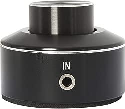 YaeCCC Mini Volume Knob Aluminium Alloy Volume Controller 3.5mm Audio Controller PC Speaker Amplifier Switcher