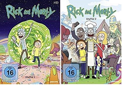 Rick & Morty Staffel 1+2 / DVD Set