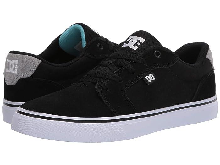DC  Anvil (Black/Battleship/Emerald) Mens Skate Shoes