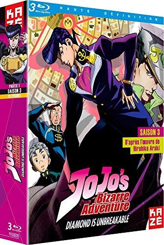 JoJo's Bizarre Adventure-Saison 3-Box 1/2-BR [Blu-Ray]