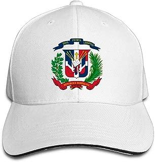 Dominican Republic Flag Adjustable Baseball Hat Dad Hats Trucker Hat Sandwich Visor Cap
