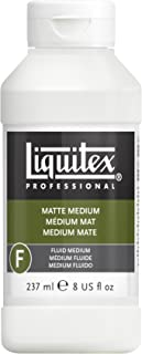 Liquitex Bs5108 Professional Matte Fluid Medium, 8 oz, Multicolor