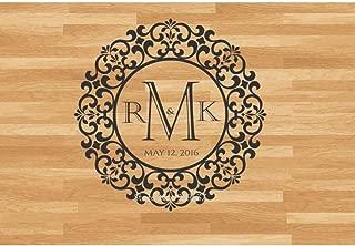 LXDWS Design Wedding Floor Stickers Wedding Decoration Vinyl Dance Floor Decal Personalized Removable Wedding Sticker