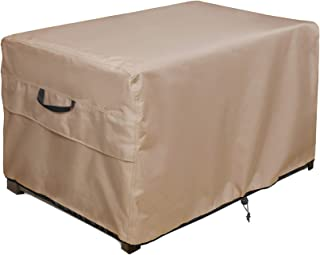 """ULT Cover Patio Deck Box/Storage Bench Cover, 100% Waterproof Outdoor Coffee Table Cover and Ottoman Covers 44""""(L)x28""""(W)x..."""