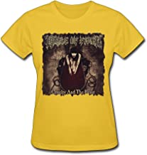 BYONE Cradle Of Filth Cruelty and The Beast Cotton O-Neck T Shirt For Womens Black
