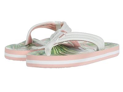 Reef Kids Ahi (Little Kid/Big Kid) (Tropical Palms) Girls Shoes