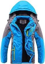 Ausom Fashion 2019 Winter Latest Boys Thicken Fleece Hooded Jacket Lightweight Warm Casual Coat Autumn Spring