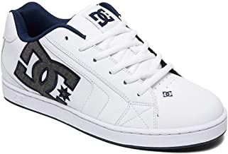 DC Shoes Net Se Trainers in White and Navy