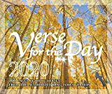 Verse for the Day Bible Verse Calendar 2020 with KJV Scripture - 365 Page A Day