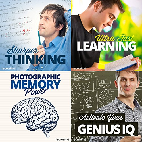 Sharp Mind Hypnosis Bundle     Enhance Your Intelligence, with Hypnosis              By:                                                                                                                                 Hypnosis Live                               Narrated by:                                                                                                                                 Hypnosis Live                      Length: 2 hrs and 25 mins     16 ratings     Overall 3.4