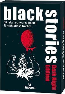 Black Stories Dark Night Edition: 50 Raven Black Puzzles for Sleepless Nights
