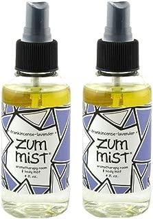 Indigo Wild Zum Mist Aromatherapy Room & Body Spray 4fl oz - Frankincense-Lavender 2 Pack