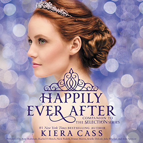 Happily Ever After: Companion to the Selection Series                   By:                                                                                                                                 Kiera Cass                               Narrated by:                                                                                                                                 Amy Rubinate,                                                                                        Rachel F. Hirsch,                                                                                        Nick Podehl                      Length: 9 hrs and 7 mins     446 ratings     Overall 4.3
