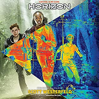 Horizon     Horizon, Book 1              By:                                                                                                                                 Scott Westerfeld                               Narrated by:                                                                                                                                 Johnathan McClain                      Length: 5 hrs and 53 mins     39 ratings     Overall 4.6
