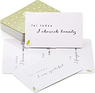 May You Know Joy : Seeds of Intention 42 Positive Intention Cards with Thought Provoking Empowering Leads, Mindfulness cards, Inspirational Self Care Gifts for Women Meditation Gifts