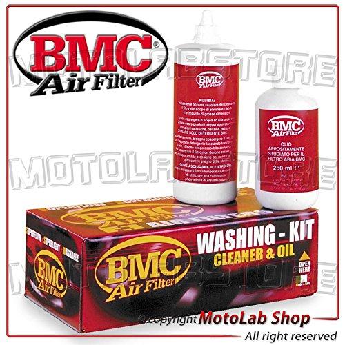 BMC Reinigungsset für Luftfilter, für Sportwagen/Auto/Motorrad, Reiniger 500ml + Öl 250ml WA250-500