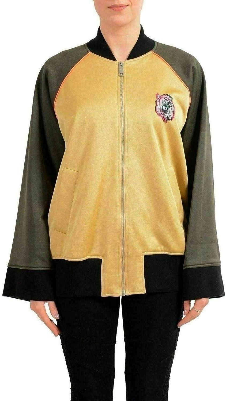 Versace Versus Multi-Color Full Zip Women's Bomber Jacket US XS IT 38