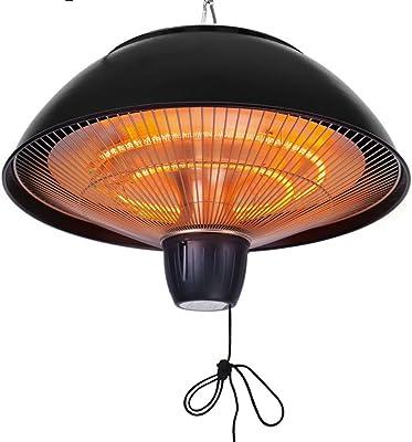 Amazon.com: Calefactor eléctrico con infrarrojos, de ...