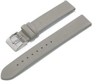 CASSIS カシス カーフ 時計ベルト 裏面防水素材 LOIRE ロワール 14mm ライトグレー 交換工具付き X1026H19091014