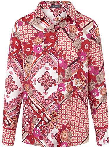 BASLER Damen Bluse mit klassischem Schnitt und Allover-Mustermix